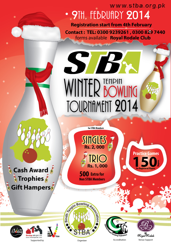 STBA  Winter  Bowling Tournament 2014