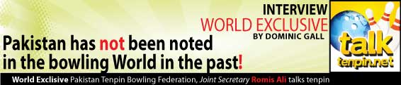 World Exclusive Pakistan Tenpin Bowling Federation Joint Secretary Romis Ali talks tenpin