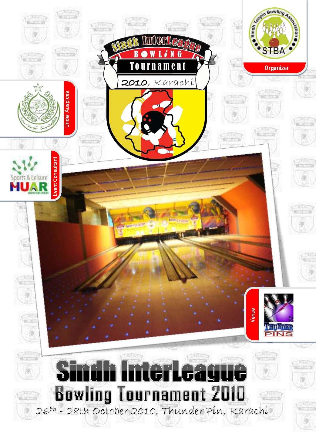 Event Report of SIndh Interleague Bowling Tournament 2010